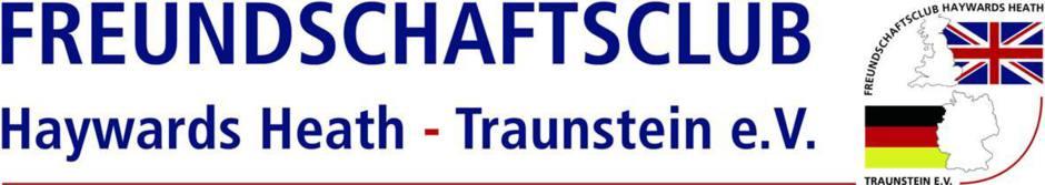 FREUNDSCHAFTSCLUB Haywards Heath - Traunstein e.V.